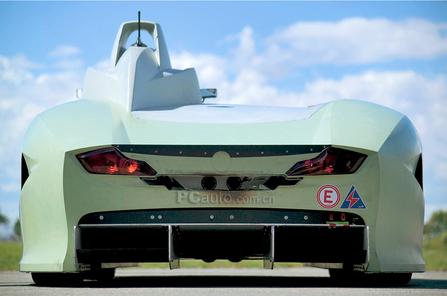 快的氢燃料动力汽车 宝马H2R眩目登场高清图片
