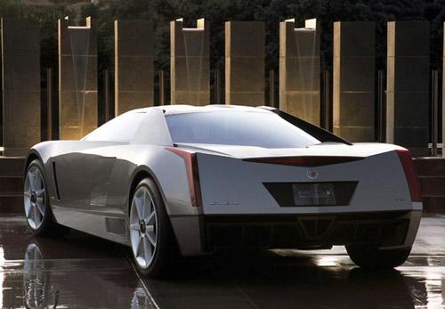 蒙特利尔国际车展 凯迪拉克超级cien概念跑车高清图片