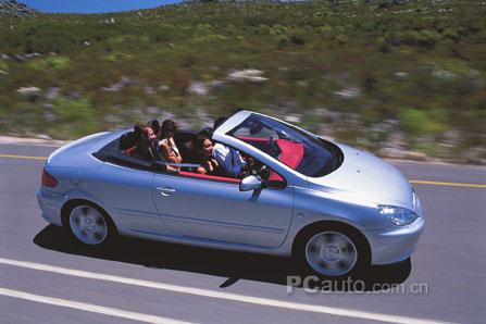世界上最安全的敞篷跑车 标致307cc强势出击