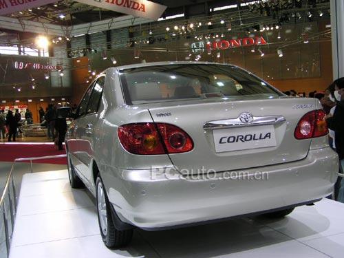 丰田toyota是什么车-丰田在中国最大的希望 花冠高清图片