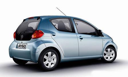 丰田小型车aygo急速出击欧洲