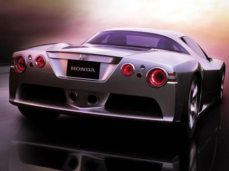 本田在最近召开的新闻发布会上宣布,将在新款跑车上配备v10发动机.图片
