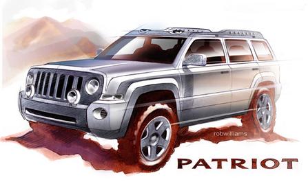 吉普 jeep Patriot 图片 大图 桌面