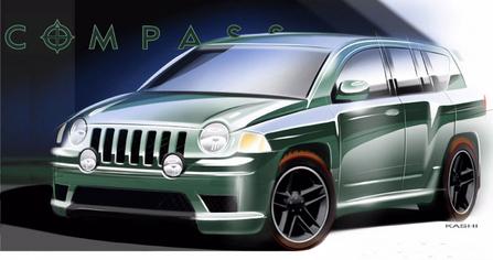 吉普 jeep Compass Rallye 图片 大图 桌面