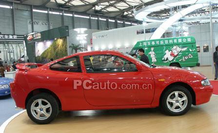 第一辆国产跑车 吉利美人豹高清图片
