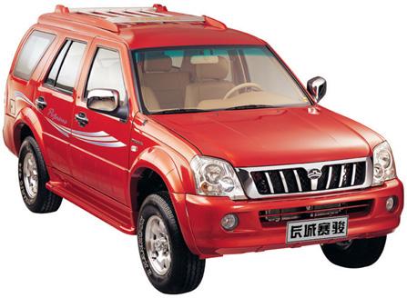 都市越野型SUV 长城赛骏即将上市高清图片