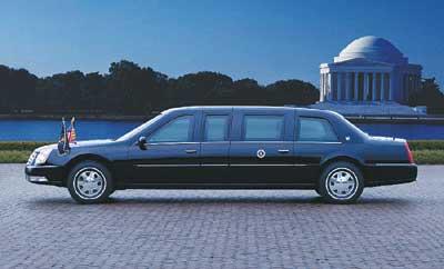 布什连任换新车 06新 款凯迪拉克dts 成 总统 座驾高清图片