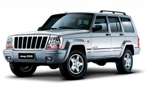 北京吉普 JEEP 2500-10万 30万4款主流SUV保养成本 费用并不比轿车图片