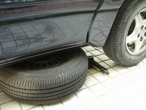 更换轮胎9步骤