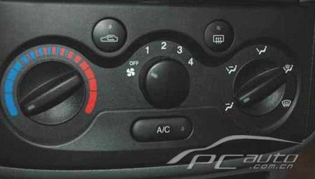 两厢小车雪佛兰乐骋:空调系统使用方法