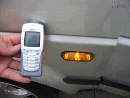 卡的汽车防盗器出现