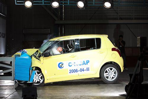 长安铃木雨燕SWIFT-C NCAP碰撞试验结果点评高清图片
