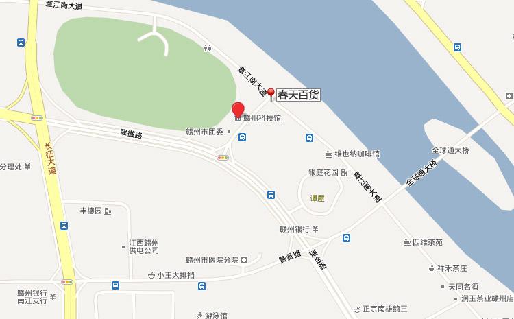 章江北大道与翠微路交界处,赣州科技馆斜对面(点击查看)
