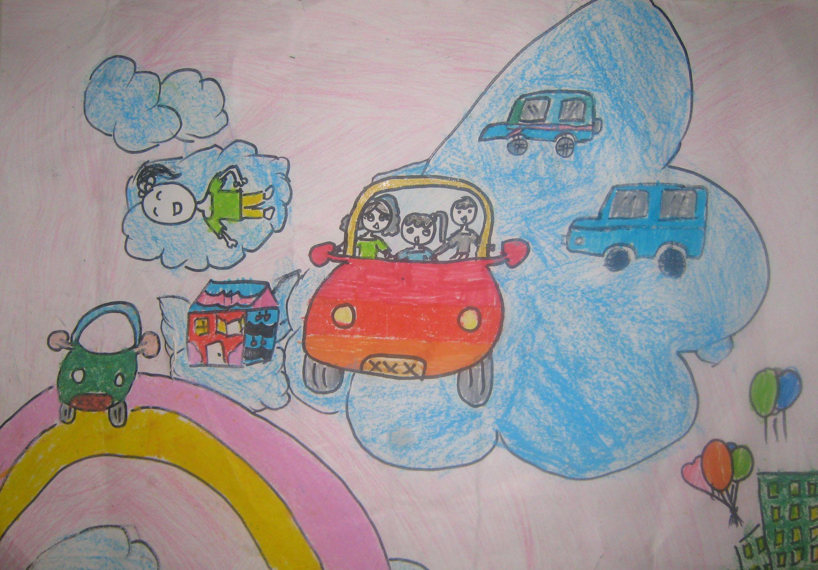 肇庆 我的未来 我的梦 儿童绘画梦活动