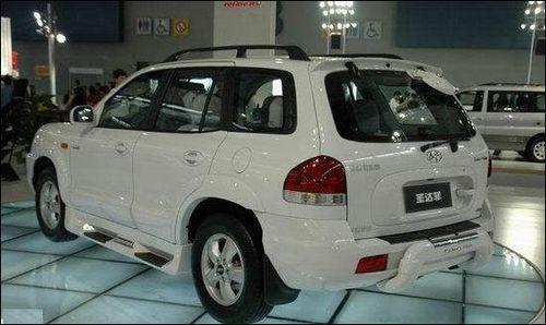 华泰圣达菲SUV10月10日上市 价格成悬念高清图片