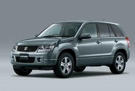 图为可能在长安铃木投产的铃木SUV车型Escudo-长安铃木明年将推出高清图片