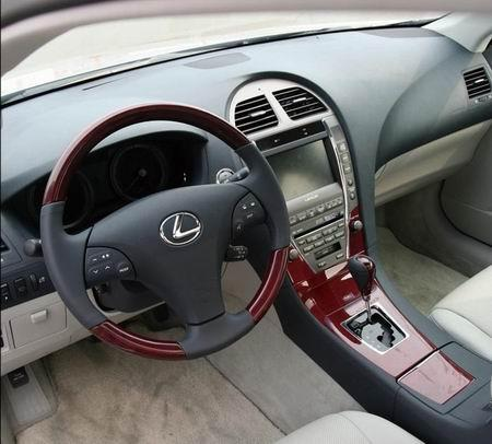 雷克萨斯ES350内饰图片-前驱的豪华轿车 试驾雷克萨斯ES350图片