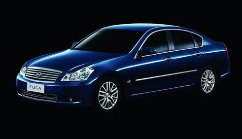 日产风雅(fuga)轿车于2005年6月27日在国内上市,当时售价47.高清图片