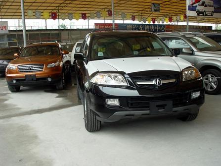 日产无限 本田阿库拉豪华SUV现身穗市场