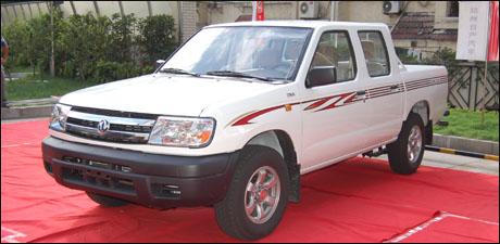 郑州日产柴油皮卡系列多功能商用车,是郑州日产家族系列又一高清图片