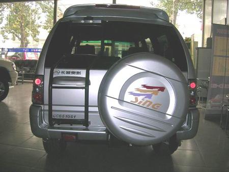 目前,在长城汽车SUV系列大家族中,有三个品种,其中赛弗-长城赛高清图片