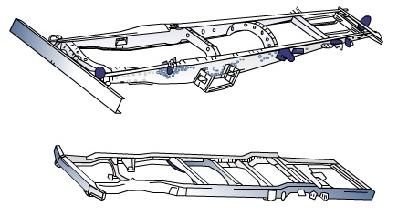 车架结构图解(一)