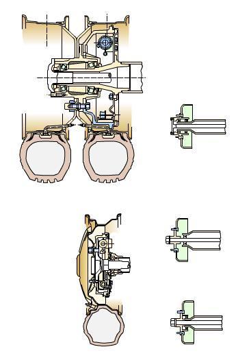 汽车行驶系统——车轮和车辋结构图解