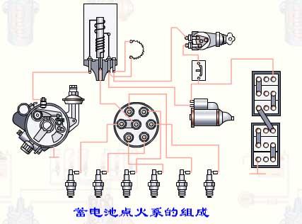 车继电器工作原理接线图解法