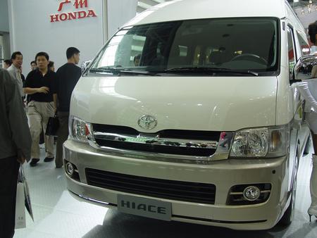 丰田新款海狮面包车 商务车高清图片